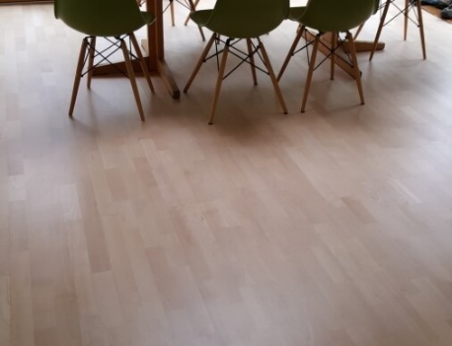 Restoration of beautiful engineered oak floor