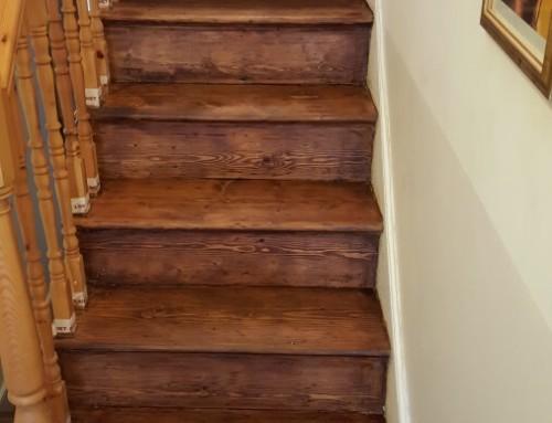 Restoration of stairs