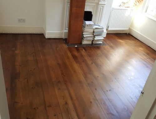 Not a new floor – just very well restored