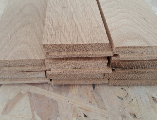 Parquet herringbone – fitting, sanding, gap filling, buffing with oil finish