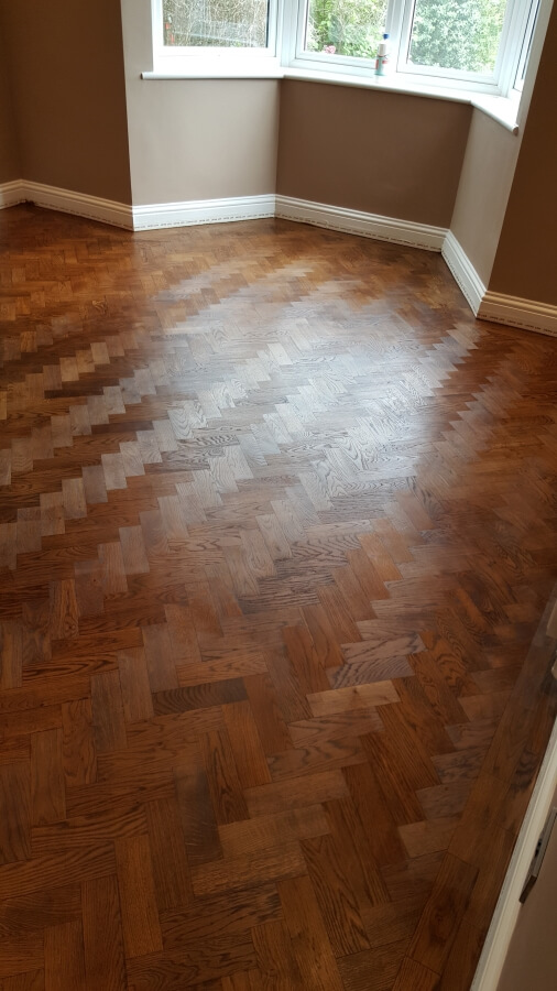 The Magnificent Look Of The Natural Merbau Parquet With
