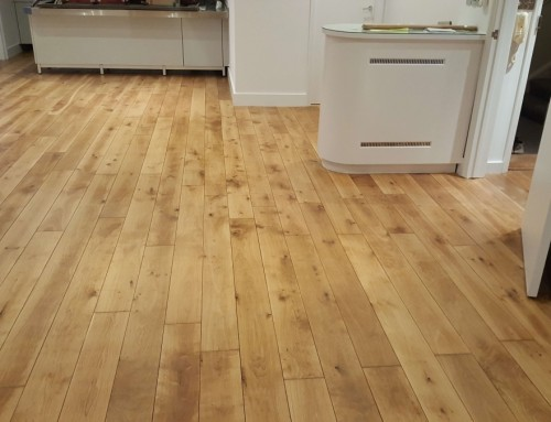 Renovation of oak floor in a luxury flat in Paddington